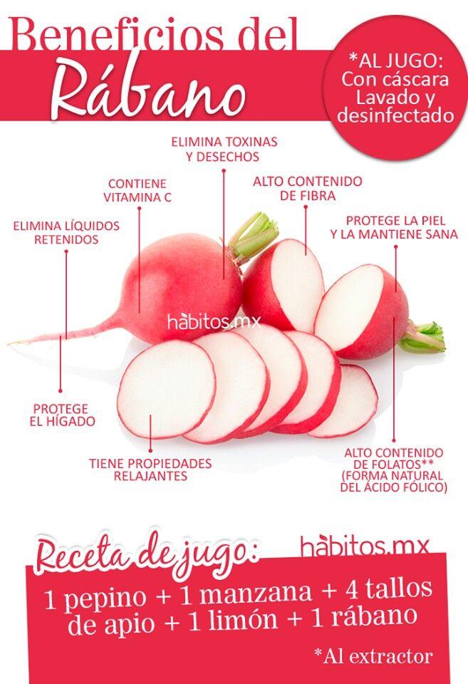 Beneficios del Rábano... #Nutrición y #Salud YG > nutricionysaludyg.com