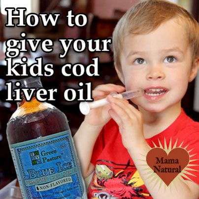 How & Why to Give Your Kids Cod Liver Oil  *CLO can help reduce colds, flues & asthma