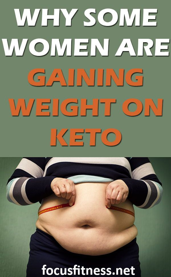 keto and gaining weight