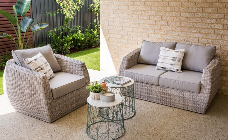The oversized alfresco offers the perfect space to entertain outdoors