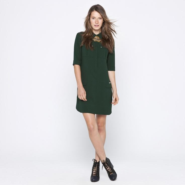 Verde adolfo dominguez dress dresses u woman style for Adolfo dominguez u woman