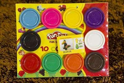 FUN DOH MIX 10 Content : 10 Color  Contact Letima House Baby Shop : Text & Whatsapp: +62-877-8080-6878 Blackberry Pin : BBM: 512B5D2E / 74B97998