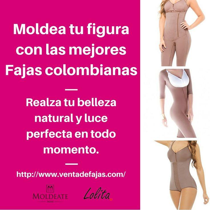 Las mejores fajas busto libre, inicia tu semana luciendo radiante! #FajasColombianas #FajasdeCalidad #Moldeate