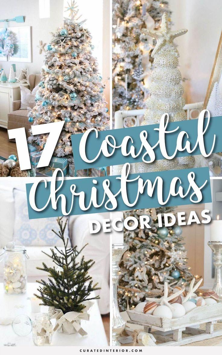 17 Coastal Christmas Decor Ideas Coastal Christmas Decor Beach