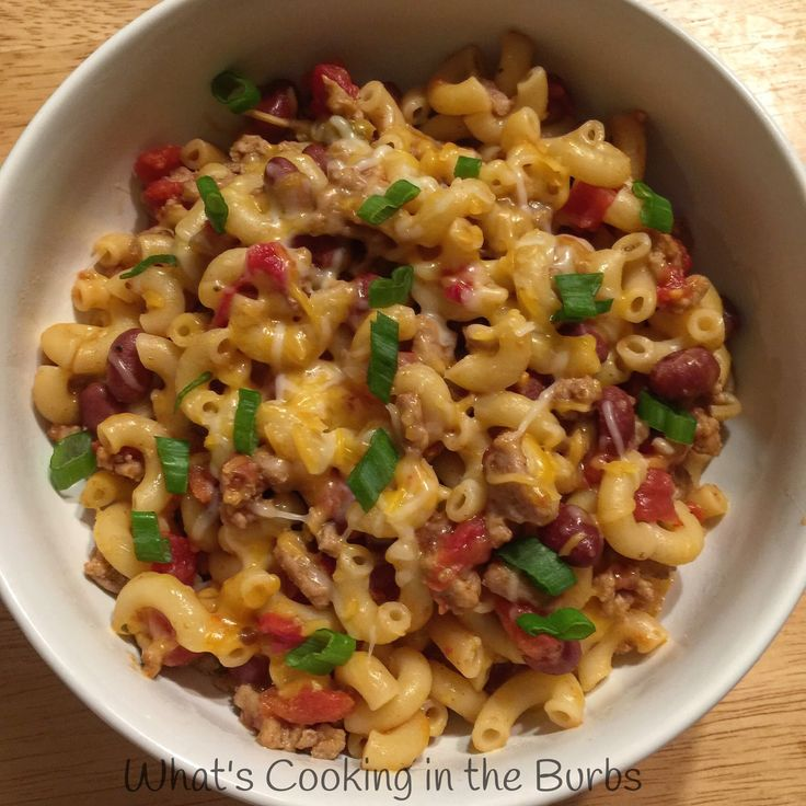 Spicy Skillet Chili Mac