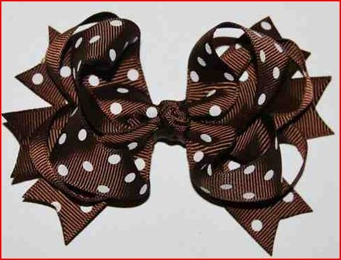 images of hair bows for little girls | ... hair elastics with mini bows grosgrain mini bows on elastic small bowsHairbows