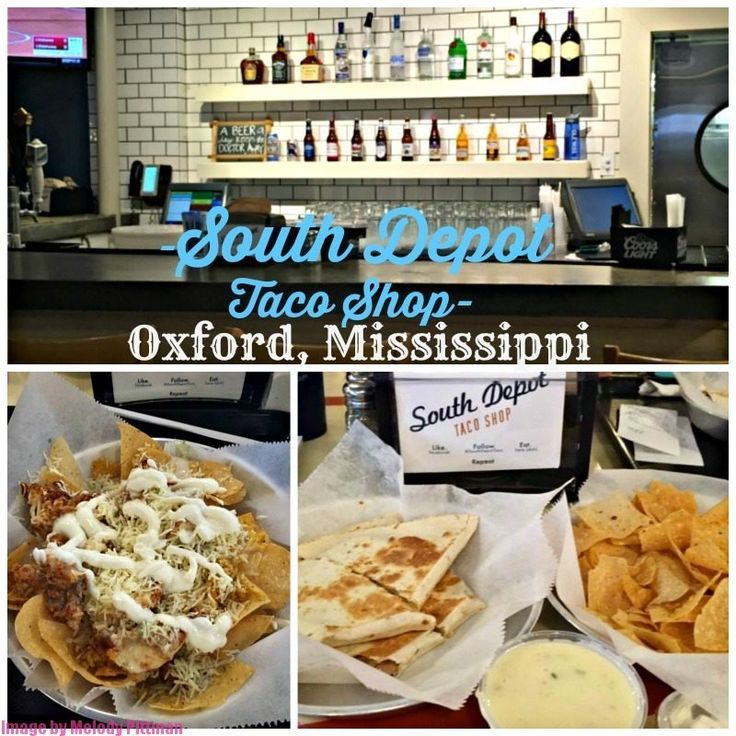 South Depot Taco Shop in Oxford, MS