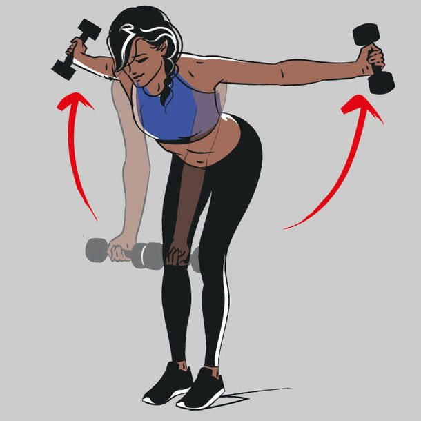 Back and back training: These exercises make you hot from behind – sport