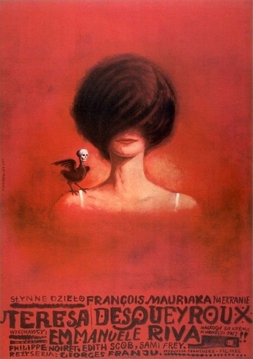 Teresa Desqueyroux (1964) film poster by Franciszek Starowieyski