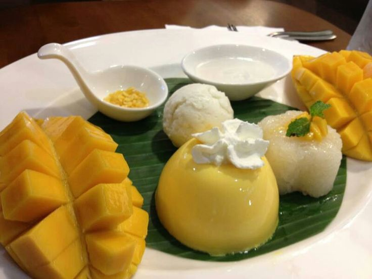 Thai-Inspired Coconut-Pandan Rice Pudding With Fresh Mango Recipes ...