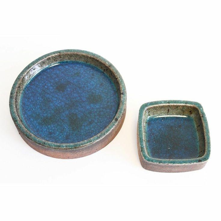 Set Konrad Galaaen Porsgrund Pottery Bowl Dish Norway Scandinavian Mid Century EBay