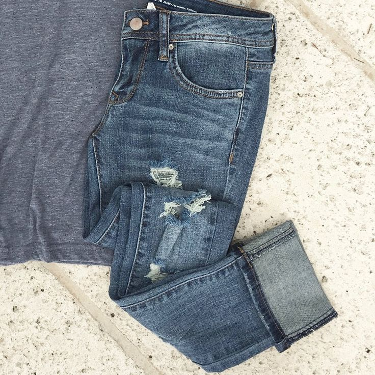 pacific cuffed skinny jeans Love!