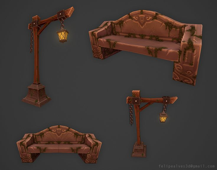 Show your hand painted stuff, pls! - Page 40 - Polycount Forum