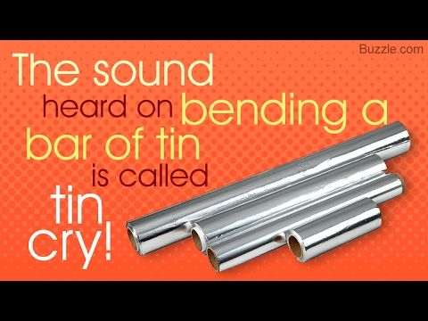 Facts About Tin That Anyone Will Find Interesting