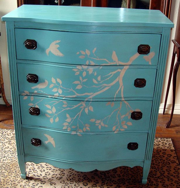 how pretty does this stencil look with the turquoise?  #CuttingEdgeStencils  #stencils