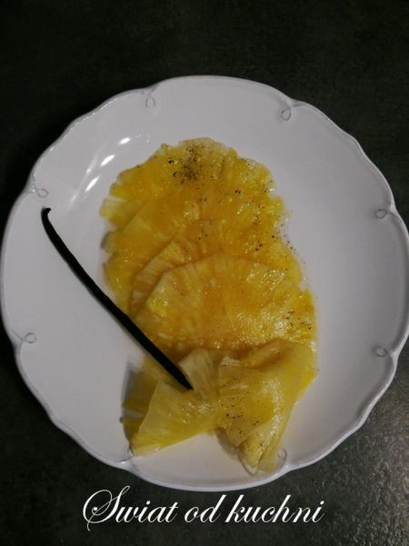 Carpaccio z ananasa