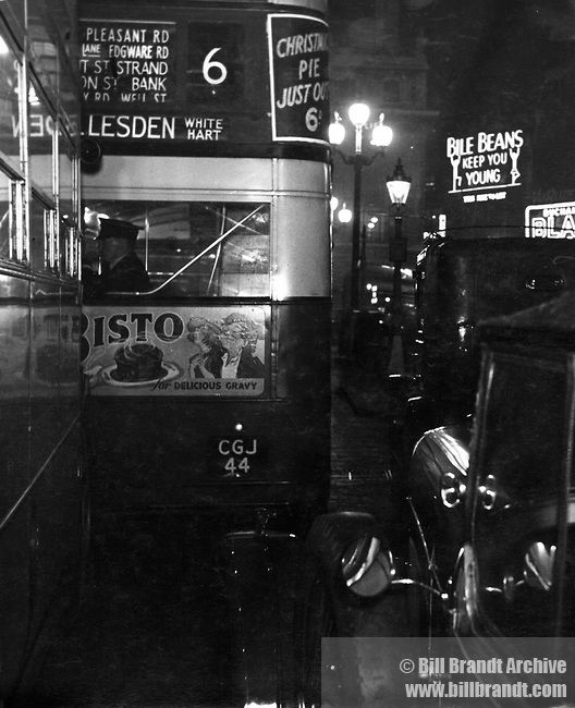 """The Night Bus"" by Bill Brandt from his book ""A Night in London"" (1938)"