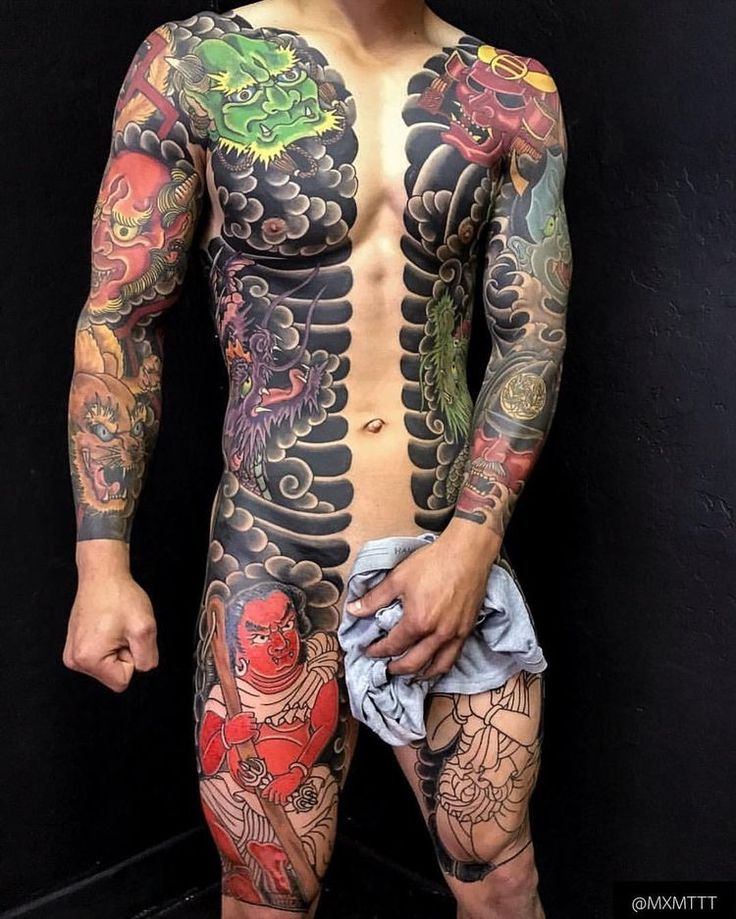 japanese tattoos irezumi meaning and history with pictures - 736×919