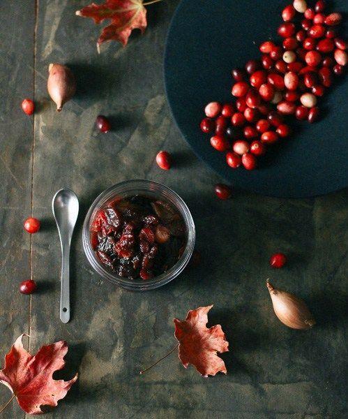 Sour Cherry Cranberry Sauce | Paleo-ish