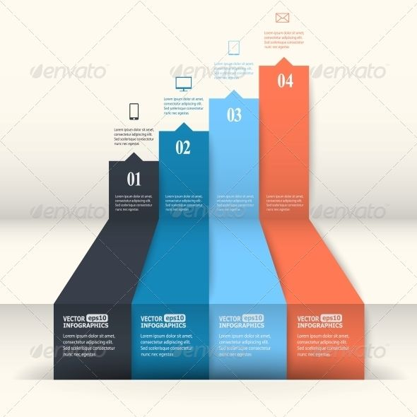 Abstract Paper Infografics - GraphicRiver Item for Sale