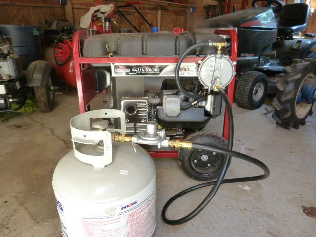 I converted our generator to operate on multiple fuels – gasoline, propane and natural gas. This has several advantages, functionally as well as practically speaking.