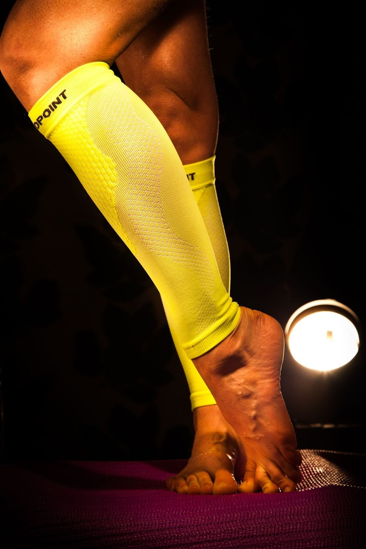 Compression Performance Calf Sleeves OX #sport #compression #calf #beautiful #legs #recovery #yellow