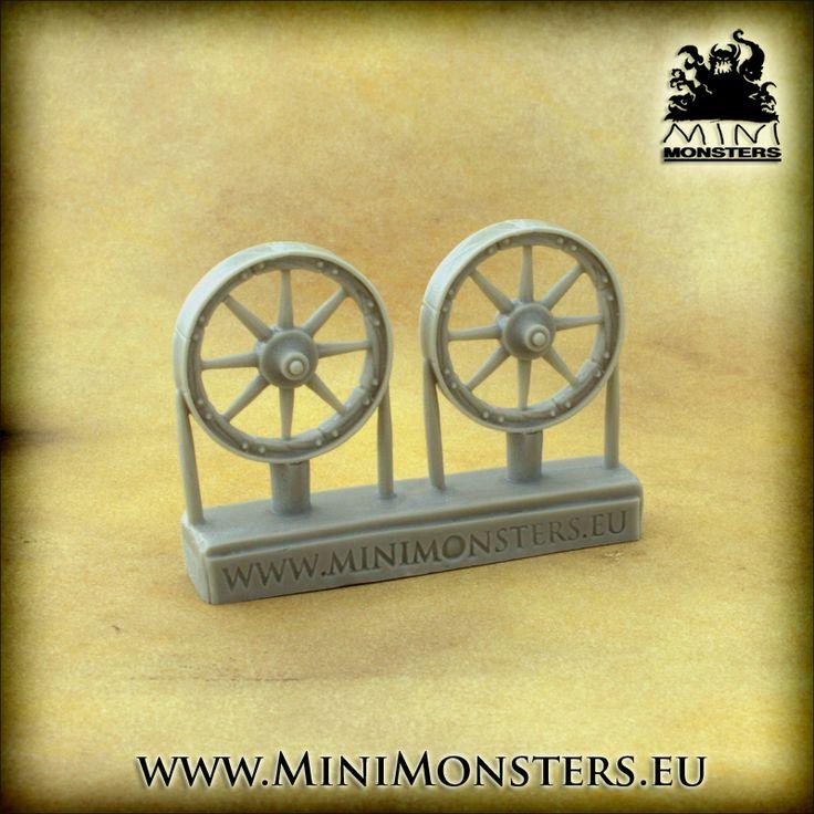 Cart, Chariot Wheels