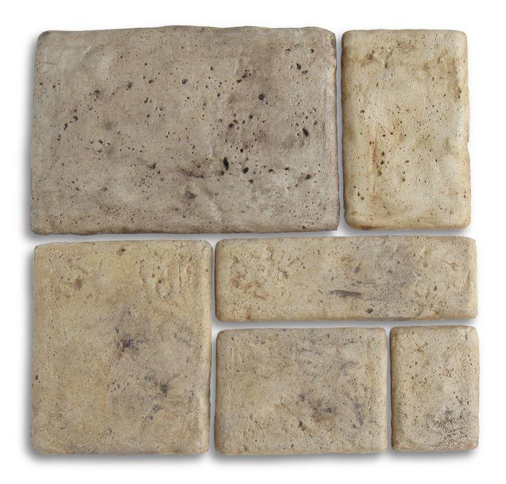 Pietre per rivestimento mod. Umbria, finitura: old stone.