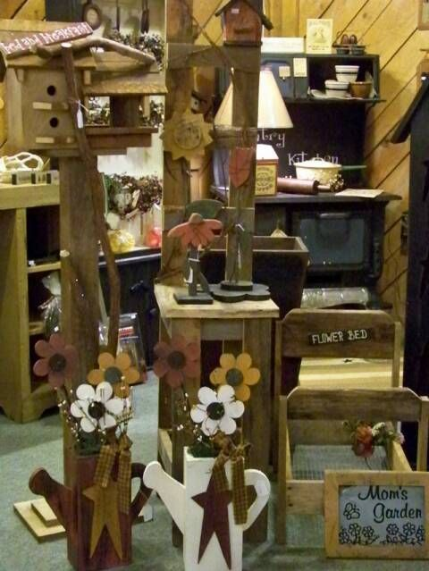 Primitive craft ideas country essentials located in for Country christmas craft show