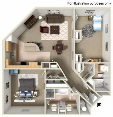 31 best maquette 3d images on Pinterest Small houses, House - dessiner maison 3d gratuit