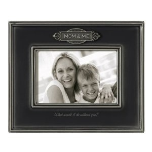"""Mom & Me $22.00  Our Mom & Me 4"""" x 6"""" Frame features a heartwarming message and a denim gray ceramic glaze. This keepsake can hang or display easel style. Arrives gift boxed. Ceramic/metal 7 1/4"""" x 8 3/4"""" x 3/4"""" Holds 4"""" x 6"""" photo Includes hanging hardware.Ceramics Glaze, Frames Galore, Inch Photographers, Gray Ceramics, Denim Grey, Photos Frames, Denim Gray, Pictures Frames, Frames Features"""