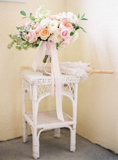 Pretty pastels: http://www.stylemepretty.com/2015/04/27/marie-antoinette-inspired-washington-farm-wedding/ | Photography: Coco Tran - http://www.cocotran.com/