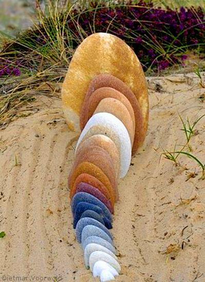 rock sculpture by Dietmar Voorwold