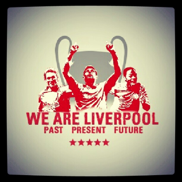 We Are Liverpoo! Past, Present and Future!! #lfc #YNWA - @lfc_photos- #webstagram