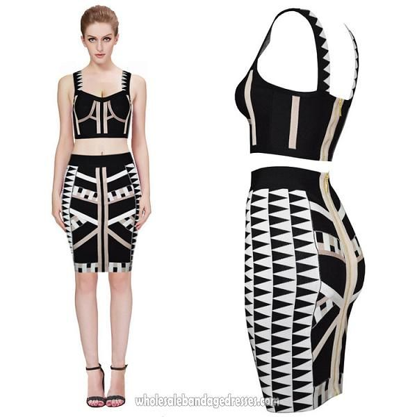 White bandage dress cheap