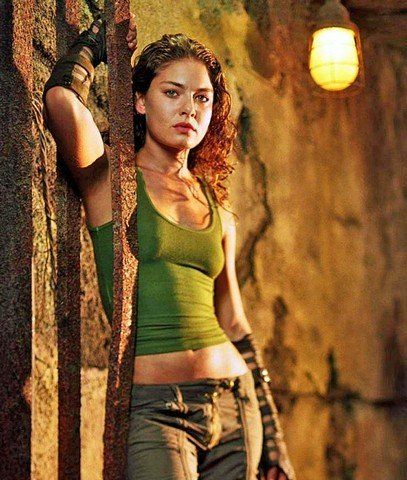 Kyra, portrayed by ALexa Davalos in The Chronicles of Riddick.