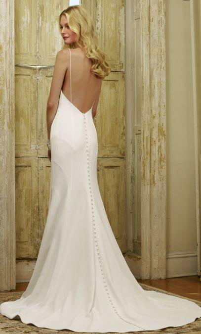 Featured Dress: Robert Bullock Bride; Wedding dress idea.