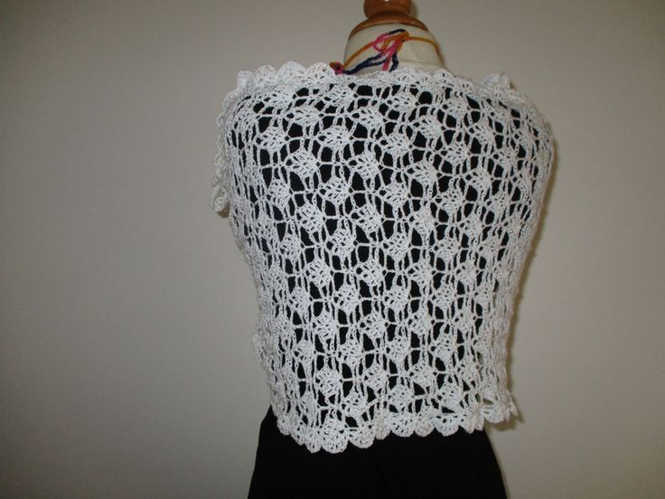 crochet : Etole blanche
