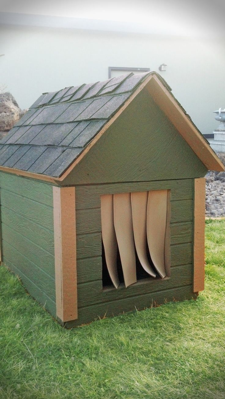 Insulated Dog House Keep Your Pet Friend Safe Dog House Plans