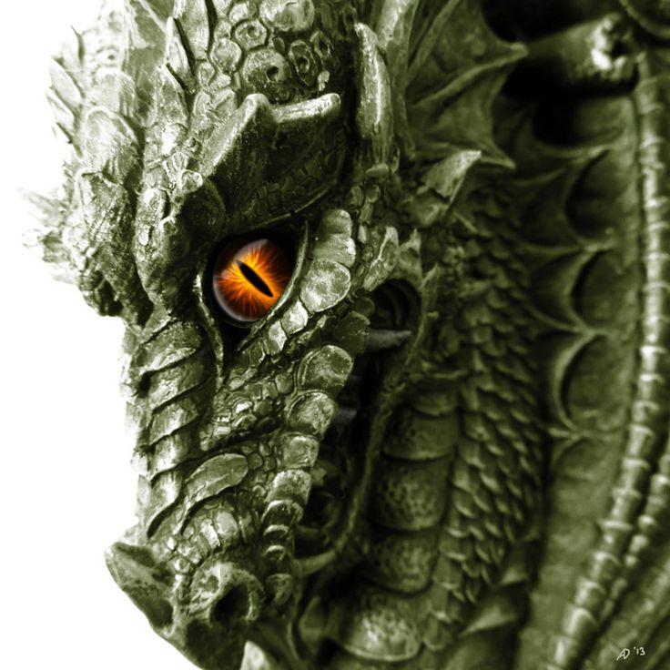 Green Dragon by DrkSnpr14