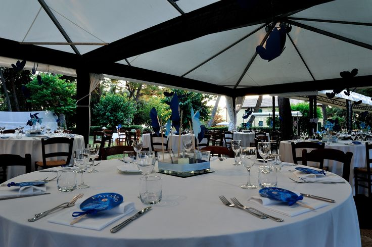 Serata a tema Aria. Allestimento tavoli. #allestimento #location