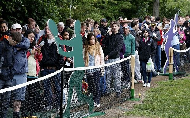 Wimbledon 2015: How to survive the queue at SW19 - Telegraph
