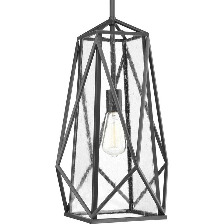 Progress Lighting Marque 1 -Light Graphite Pendant