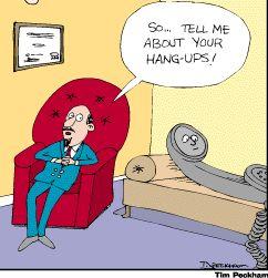 Hang Ups. Tim Peckham.