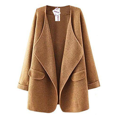 Comprar por internet.Material: Poliéster + Algodón La chaqueta encantadora viene al mundo, fácil de hacer elegante a todas las mujeres y niñas en el otoño y el invierno. Diseño de moda para llevarse muy agradable