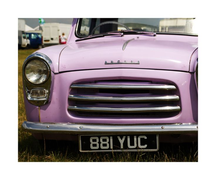 A personal favorite from my Etsy shop https://www.etsy.com/uk/listing/220091478/lilac-ford-anglia-wall-art-home-decor