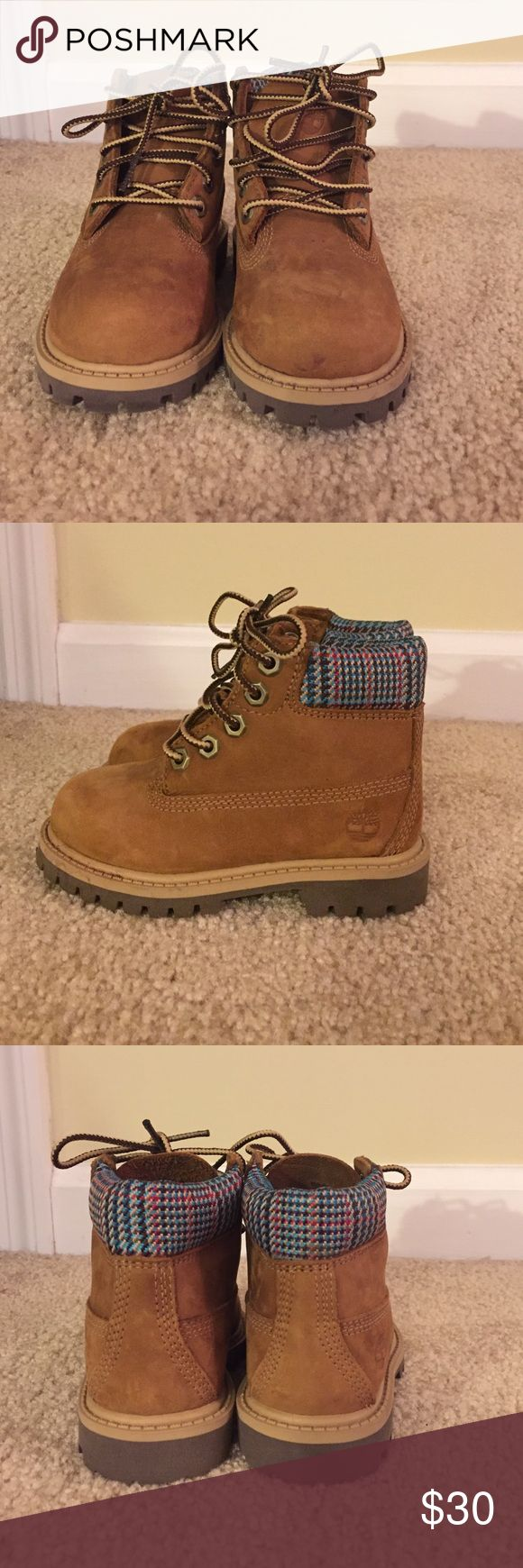Timberland boots for toddler These Timberland boots were barely even worn. They are in great condition. Timberland Shoes Boots