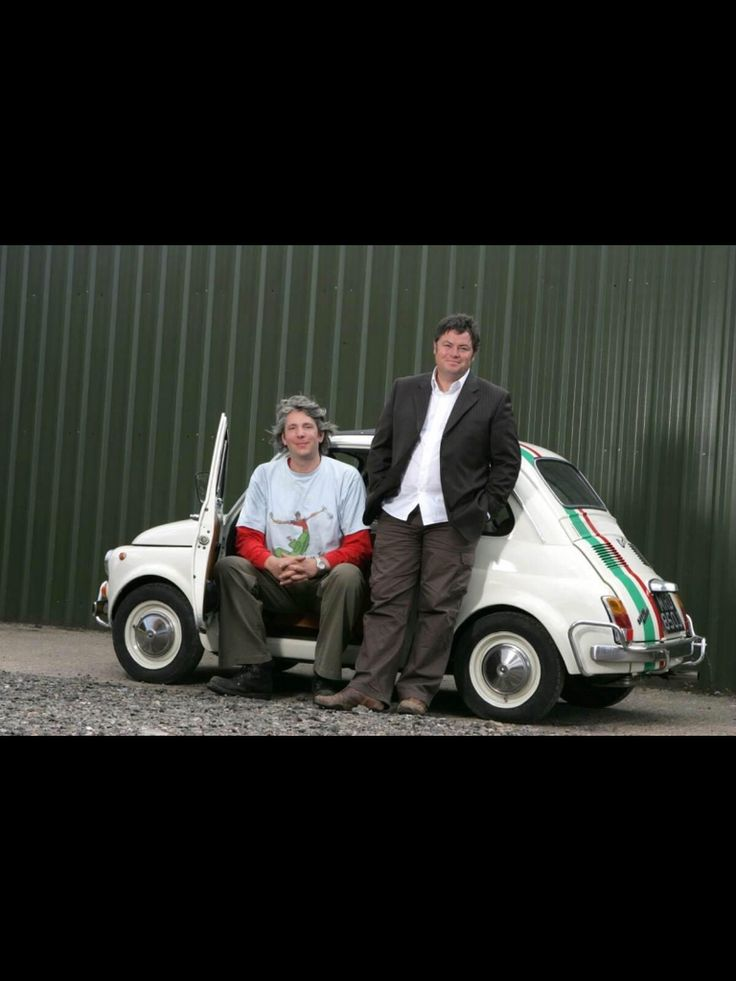 Love these guys. Edd China and Mike Brewer from Wheeler Dealers.