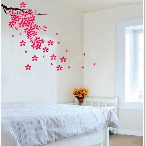 Beautiful Bedroom With Flowers : 1000+ images about Beautiful Bedroom Murals on Pinterest  Vines, New ...