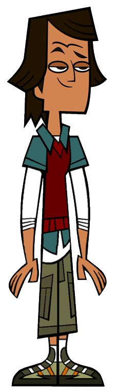 Noah was a camper on Total Drama Island as a member of the Screaming Gophers. He did not compete on Total Drama Action, but he appeared on the Total Drama Action Aftermath as a member of the peanut gallery. He was a contestant on Total Drama World Tour as a member of Team Chris Is Really Really Really Really Hot. He was seen with the original contestants on a yacht in the first episode of Total Drama: Revenge of the Island. He was also a Total Drama Presents: The Ridonculous Race…